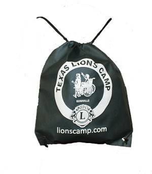 TLC Logo Drawstring Backpack