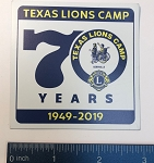 70th Anniversary TLC Logo Magnets