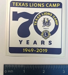 70th Anniversary TLC Logo Sticker