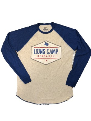 Long Sleeve Lions Camp Soft Baseball Jersey